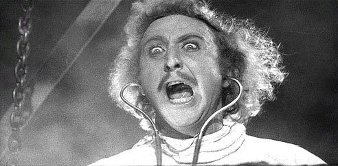 """It's Alive"" - Gene Wilder in Young Frankenstein"