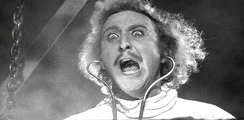 """It's Alive"" - Gene Wilder in Young Frankenstein"